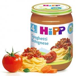 Hipp Příkrm zelenino-masný BIO Špagety v boloňské omáčce 190g