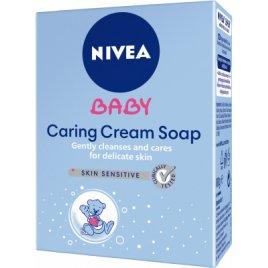 Nivea Dětské krémové mýdlo Baby