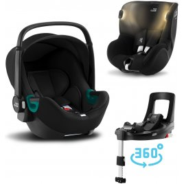 Römer Set autosedačka Baby-Safe 3 i-Size + Flex Base iSense + Autosedačka Dualfix iSense