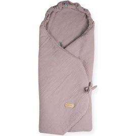 Beztroska zavinovací deka do autosedačky mušelín